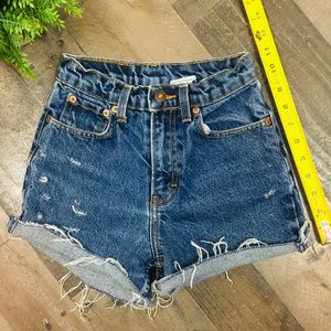 """Other - 22"""" High Waisted Jean Shorts - Girls size 10"""